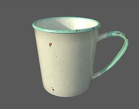 Rusty mug 3D PBR