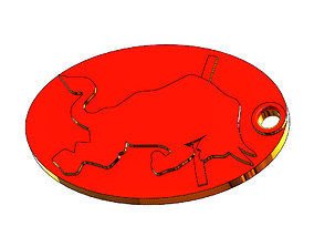 Red Bull Key FOB 3D print model