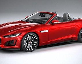 Jaguar F-Type R Dynamic Convertible 2021 3D