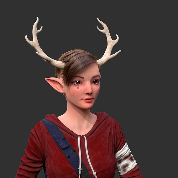 The Deer Girl