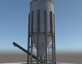 3D asset Old Silo