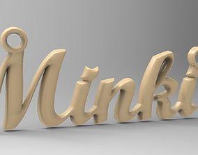 3D printable model ring name