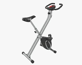 Fitness bike trainer folding 3D