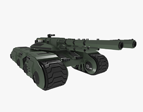 Battle Tank Concept 3D asset