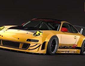 Porsche GT3 RSR 3D