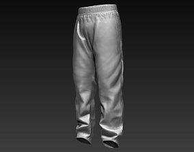 3D Sports Pants Zbrush