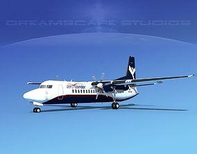 Fokker 50 Aero Condor 3D