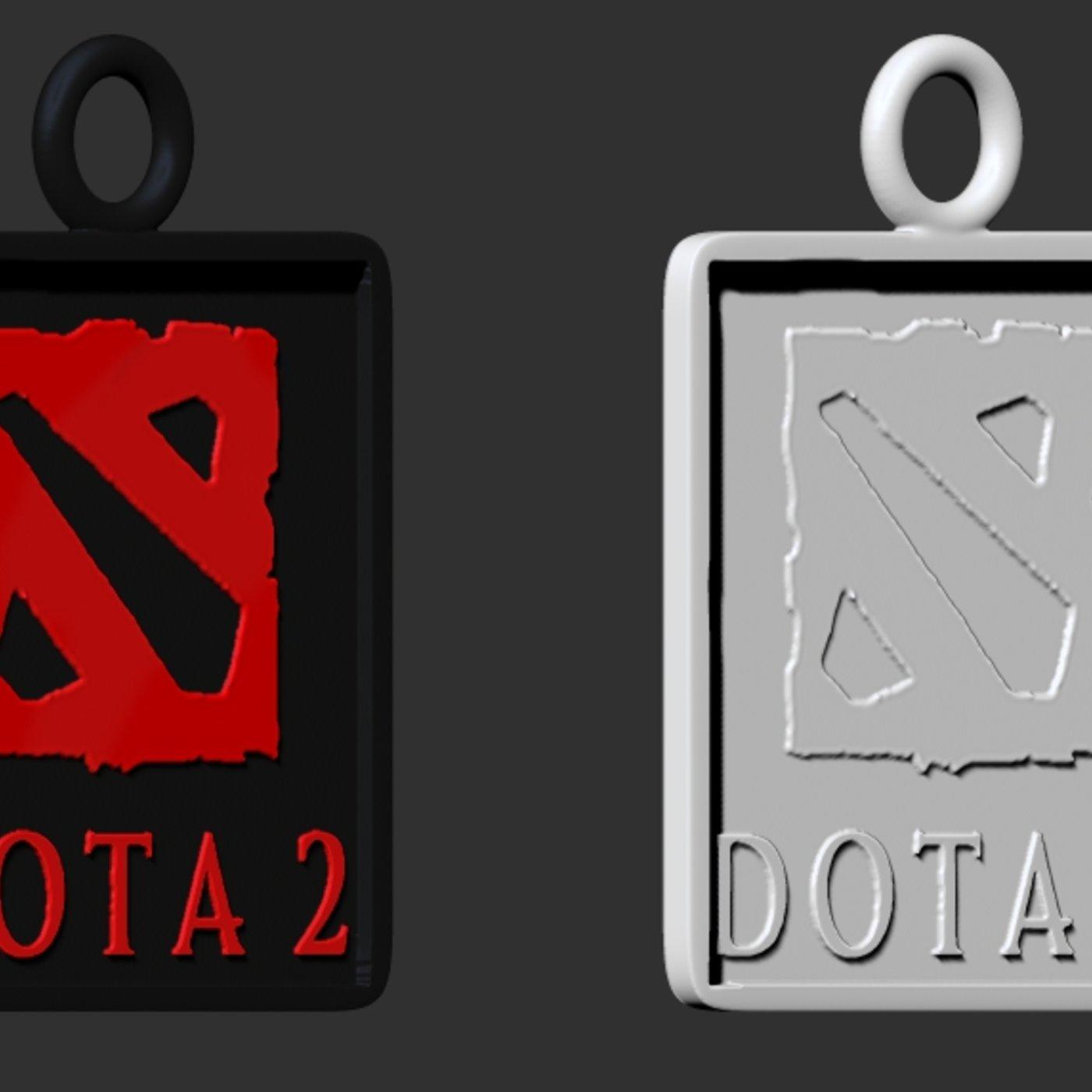 League of Legends and Dota 2 pendants 3D print model