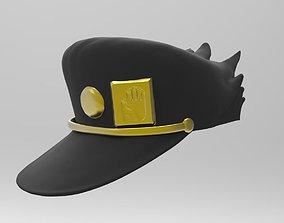 JOJO Jotaro Kujo COSPLAY Hat 3D printable model