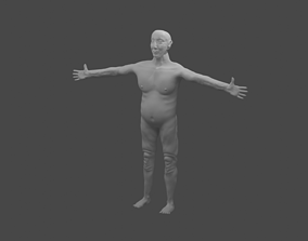 people Old Man 3D