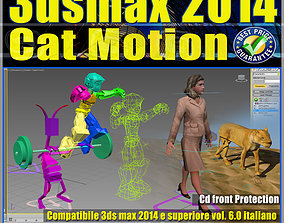 3ds max 2014 Cat Motion v 6 Italiano cd animated
