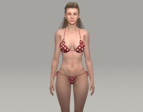 Sarah 3D model