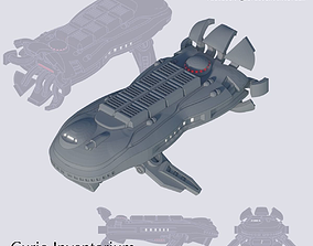 Space Freighter Cetacia 3D print model