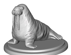 walrus 3D print model