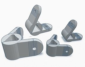 3D printable model Clips