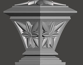 WoodCarving detail - 3d model for CNC - WCCFC0R