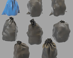 3D model Garbage dusty bags