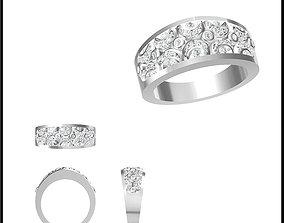Wonderful promise rings jewellery jcd 3D print model