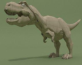 T-Rex Base Mesh 3D