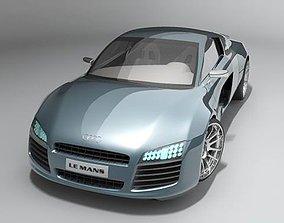 3D Audi Le Mans 2004