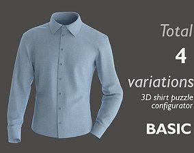Part 3- 3D shirt basic puzzle configurator