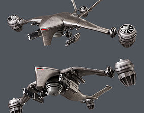 3D model Hunter killer-drone