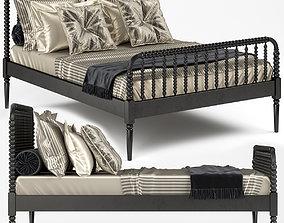 3D model Crate and Barrel Jenny Lind Bed 02