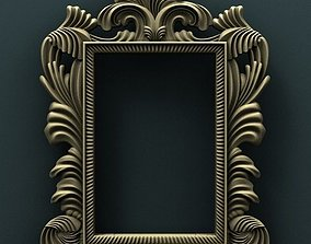 3d STL Model for CNC Router Pictures frame picture