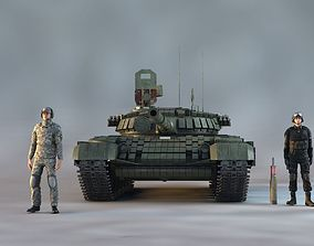 3D model T-72 B-1