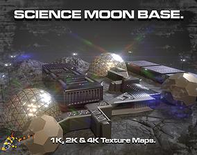 SCIENCE MOON BASE 3D model
