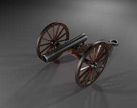 Field Gun - Cannon 3D asset