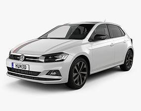 Volkswagen Polo Beats 5-door 2017 3D model