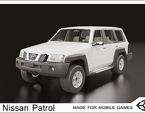 2016 Nissan Patrol 3D model