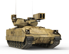 3D asset Armored car v2