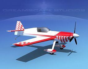 3D model rigged MXS Aerobatic Sport
