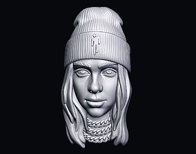3D print model Billie Eilish