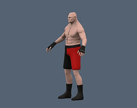Brock Lezner Base Mesh 3D model