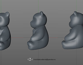 3D printable model teddybear
