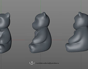 teddybear 3D printable model