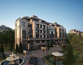 3D model Residential Building residential