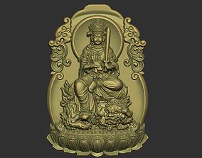 3D print model Kwanyin Bodhisattva deity