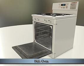 3D model PBR Oven