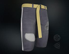 3D asset Jeans Short