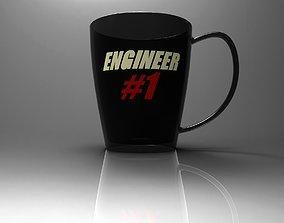 3D model Engineer 1 cup