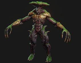 Ancient demon character 3D asset
