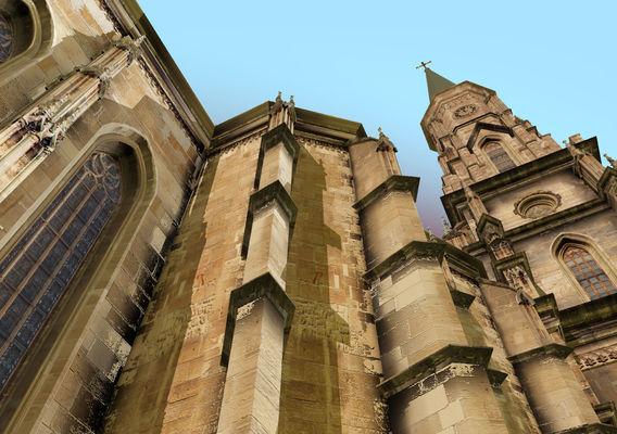 gothic church  IN ROMANIA 01