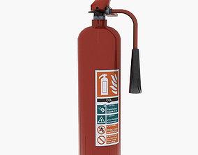 3D asset Fire Extinguisher Co2