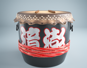 3D model Drum PBR