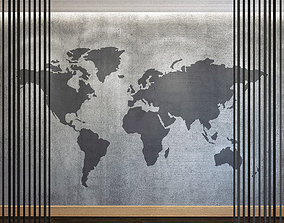 Wall Panel Set 86 3D model