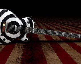 Gibson Les Paul - Zakk Wilde 3D model